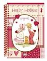 Libro HOLLY HOBBIE AGENDA PERPETUA (TAPA ROSA) (ANILLADA CARTONE)