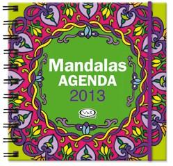 MANDALAS AGENDA 2013 (TAPA VERDE) (CARTONE ANILLADA)