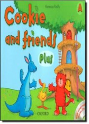 Libro COOKIE AND FRIENDS PLUS A (WITH SONGS AND STORIES CD)