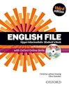 ENGLISH FILE UPPER INTERMEDIATE STUDENT'S BOOK (THIRD EDITION) (WITH DVD-ROM)
