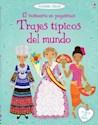 Libro TRAJES TIPICOS DEL MUNDO (VESTUARIO EN PEGATINAS) (CON MAS DE 275 PEGATINAS) (RUSTICO)