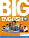 BIG ENGLISH 1 PUPIL'S BOOK PEARSON (BRITISH ENGLISH)