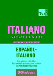 Libro Vocabulario español-italiano - 5000 palabras más usadas