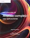 INTRODUCCION AL ANALISIS COMPLEJO CON APLICACIONES (2/EDICION)