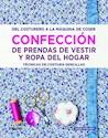 CONFECCION DE PRENDAS DE VESTIR Y ROPA DEL HOGAR TECNIC  AS DE COSTURA (CARTONE)