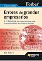 Libro ERRORES DE GRANDES EMPRESARIOS
