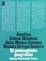 Libro PENSAMIENTO GEOGRAFICO