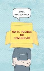 Libro No es posible no comunicar