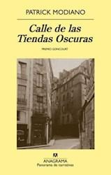 Libro CALLE DE LAS TIENDAS OSCURAS     -PN725