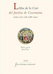 Libro Llibre de la Cort del Justícia de Cocentaina (1269-1290)
