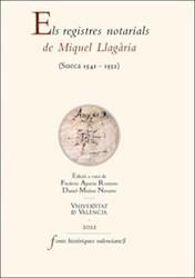 Libro Els registres notarials de Miquel Llagària