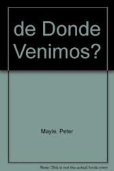 Libro DE DONDE VENIMOS?
