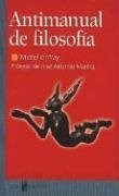 Libro ANTIMANUAL DE FILOSOFIA