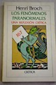 FENOMENOS PARANORMALES (COLECCION GENERAL 167) (RUSTICA)