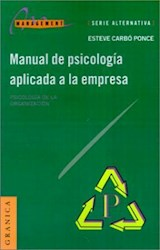 MANUAL DE PSICOLOGIA APLICADA A LA EMPRESA 1