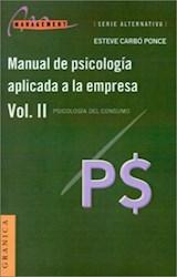 MANUAL DE PSICOLOGIA APLICADA A LA EMPRESA 2 PSICOLOGIA