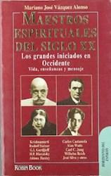 Libro MAESTROS ESPIRITUALES DEL SIGLO XX