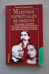 Libro MAESTROS ESPIRITUALES DE ORIENTE