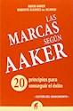 MARCAS SEGUN AAKER 20 PRINCIPIOS PARA CONSEGUIR EL EXITO (GESTION DEL CONOCIMIENTO) (RUSTICO)