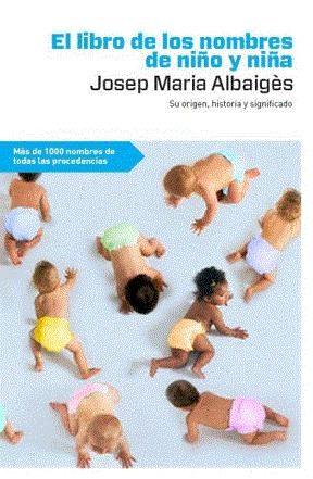 Libro El libro de los nombres de niño y niña