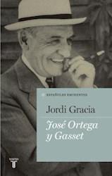 Libro Jose Ortega Y Gasset