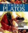Libro PRIMEROS PLATOS ESPECIAL TAPAS (PEQUEÑOS TESOROS) (SEMIDURA)