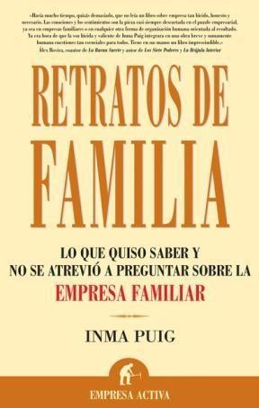 Libro Retratos de familia