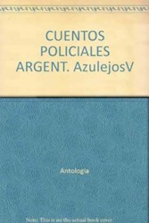 Libro CUENTOS POLICIALES ARGENTINOS