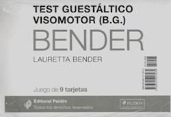 TEST GUESTALTICO VISOMOTOR [JUEGO DE 9 TARJETAS] (EVALUACION 21204)