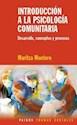 INTRODUCCION A LA PSICOLOGIA COMUNITARIA DESARROLLO CONCEPTO Y PROCESOS (TRAMAS SOCIALES 75223)