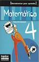 MATEMATICA 4 KAPELUSZ HERRAMIENTAS PARA APRENDER (NOVEDAD 2012)
