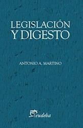 Papel Legislación y digesto