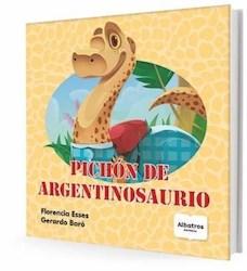 PICHON DE ARGENTINOSAURIO (ILUSTRADO) (RUSTICO)