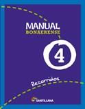 Libro MANUAL SANTILLANA 4 RECORRIDOS BONAERENSE (NOVEDAD 2012