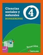 CIENCIAS SOCIALES Y NATURALES 4 SANTILLANA RECORRIDOS BONAERENSE (NOVEDAD 2013)