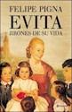 Libro EVITA JIRONES DE SU VIDA (RUSTICO)