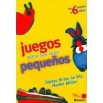 Libro JUEGOS PARA LOS MAS PEQUEÑOS