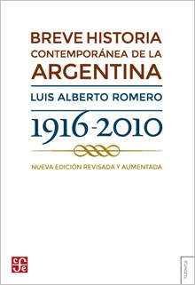 Papel Breve historia contemporánea de la Argentina