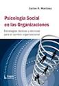 PSICOLOGIA SOCIAL EN LAS ORGANIZACIONES (ESTRATEGIAS TA  CTICAS Y TECNICAS PARA EL CAMBIO OR