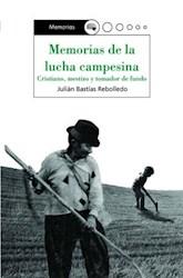 Libro Memorias de la lucha campesina