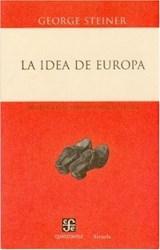 Libro IDEA DE EUROPA, LA