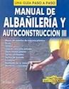 MANUAL DE ALBAÃ'ILERIA Y AUTOCONSTRUCCION III
