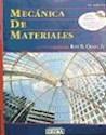 MECANICA DE MATERIALES (2 EDICION) (INCLUYE CD)