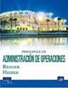 PRINCIPIOS DE ADMINISTRACION DE OPERACIONES CON CD ROM  (5 EDICION)
