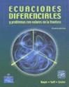 ECUACIONES DIFERENCIALES Y PROBLEMAS CON VALORES EN LA  (4 EDICION)