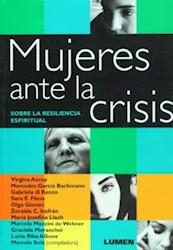 Libro MUJERES ANTE LA CRISIS. SOBRE LA RESILENCIA ESPIRITUAL