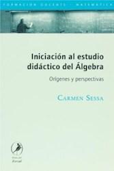 Libro INICIACION AL ESTUDIO DIDACTICO DEL ALGEBRA