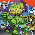 Libro HULK SALVA EL DIA (MARVEL SUPER HERO SQUAD)