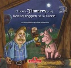Libro BUEN FLANNERY Y LOS MOLESTOS BOGGARTS DE SU ESTABLO (LETRAS ANIMADAS)