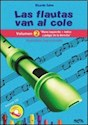 FLAUTAS VAN AL COLE VOLUMEN 2 MANO IZQUIERDA + INDICE Y  PULGAR DE LA DERECHA (INCLUYE CD)